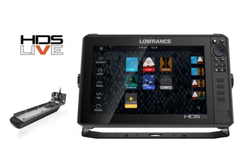 Сонар Lowrance HDS 12 LIVE 3 в 1
