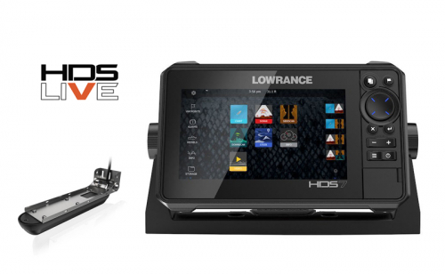 Сонар Lowrance HDS 7 LIVE 3 в 1
