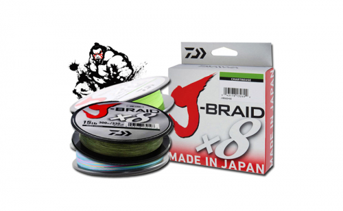 Плетено влакно Daiwa J-Braid X8