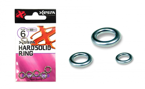 Халкички Xesta Hardsprit Solid Ring