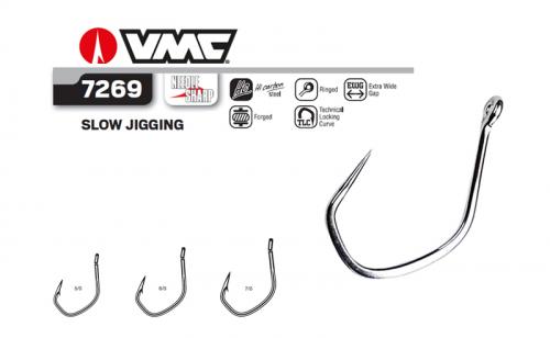 Куки VMC 7269 Slow Jigging