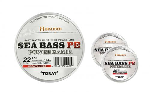 Плетено влакно Toray Sea Bass PE Power Game