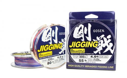 Плетено влакно Gosen W8 Jigging