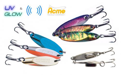 Блесна Acme Kastmaster Rattle Master & Baitfish UV