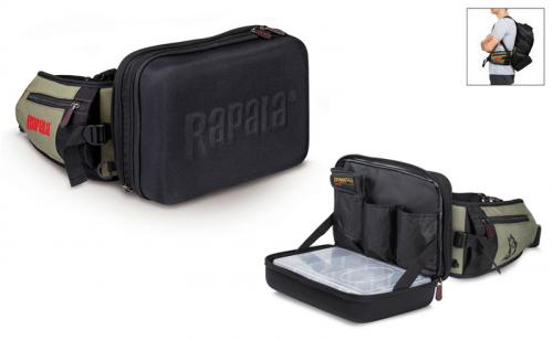 Чанта за кръста с раница Rapala Limited Series Hybrid Hip Pack 46039-1