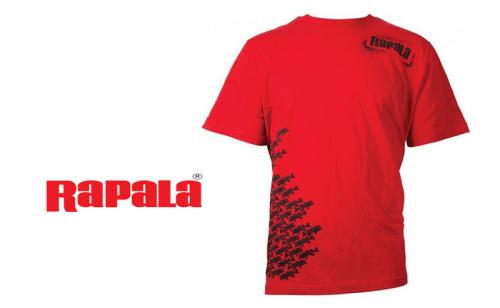 Тениска Rapala Schoolie Red