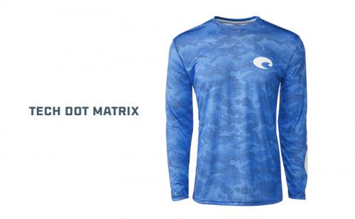 Блуза Costa Tech Dot Matrix