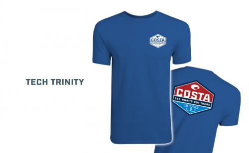 Тениска Costa Tech Trinity