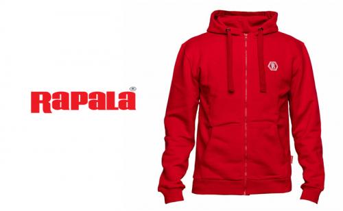 Суитшърт Rapala Red Zipper Hoodie