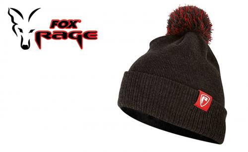 Зимна шапка Fox Rage Grey Bobble NHH001