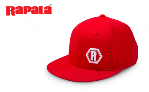 Шапка с козирка Rapala Urban Flat Brim Red