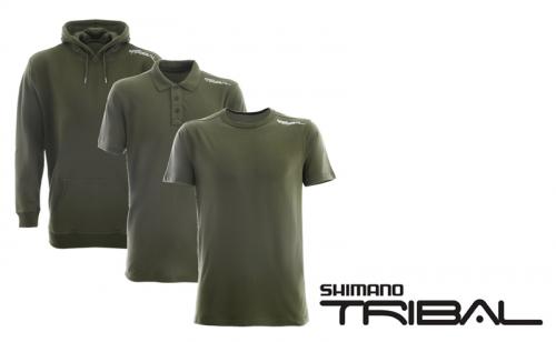 Комплект 3 в 1 тениски и суитшърт Shimano Tribal