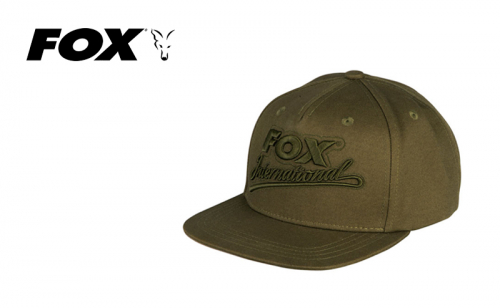 Шапка Fox Khaki Flat College Snapback CHH003