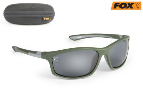 Очила Fox Sunglasses Green/Silver CSN044