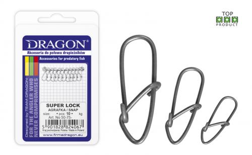 Карабинка Dragon Super Lock Snaps