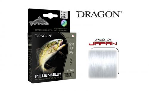Влакно за пъстърва Dragon Monofilament Millenium
