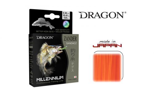 Влакно за бяла риба Dragon Monofilament Millennium Zander
