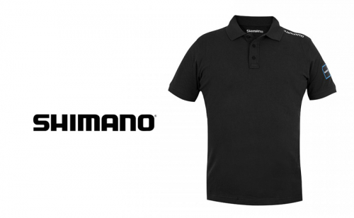 Тениска с яка Shimano Aero Polo