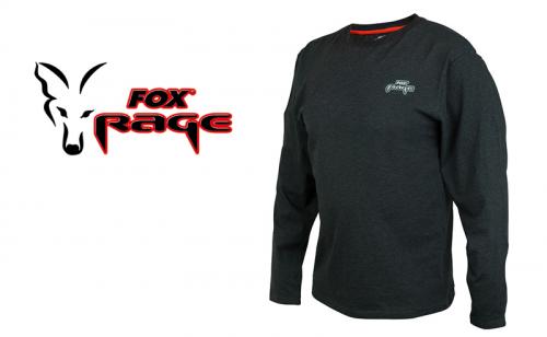 Блуза Fox Rage Black Marl Tee Long Sleeve