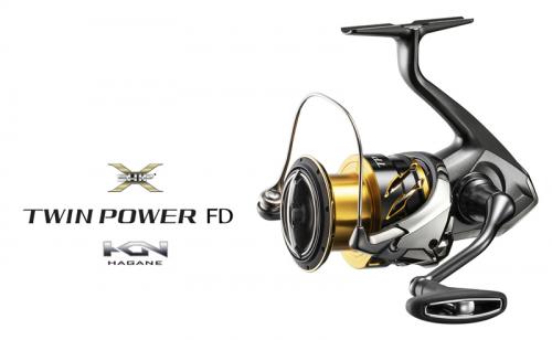 Макара Shimano Twin Power FD 2020