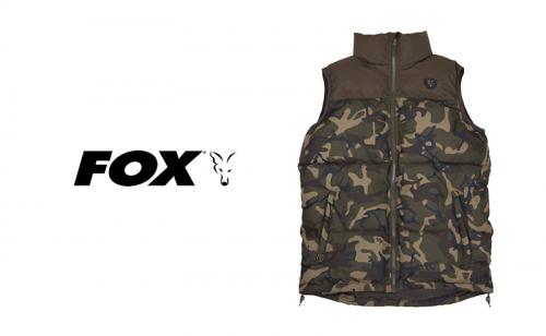 Елек Fox Camo Khaki RS Gilet