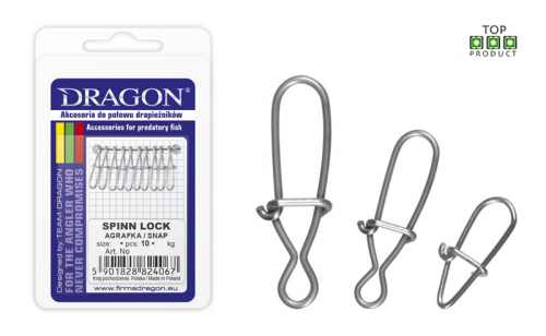 Карабинка Dragon Spinn Lock
