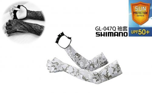 Слънцезащитни ръкави с ръкавици Shimano Sun Protection Long Glove GL-047Q