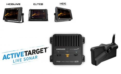 Lowrance ActiveTarget™ Live Sonar система - сонда и процесор