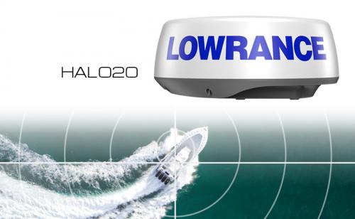 Lowrance HALO20 Radar 24 NM