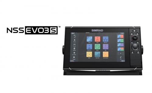 Сонар GPS Simrad NSS9 evo3S