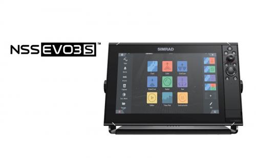 Сонар / GPS Simrad NSS12 evo3S