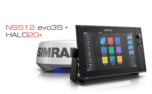 Сонар Simrad NSS12 evo3S комплект с HALO20+ Radar