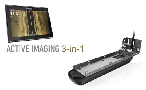 Сонда Simrad Active Imaging 3-in-1 със стойка за транеца