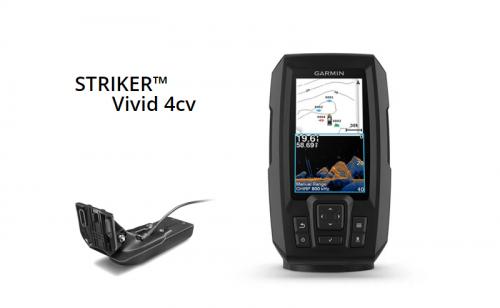 Сонар Garmin STRIKER Vivid 4cv с GT20-TM сонда