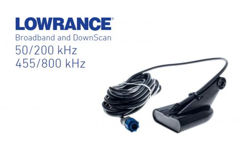 Сонда Lowrance HDI Skimmer 50/200 455/800 kHz