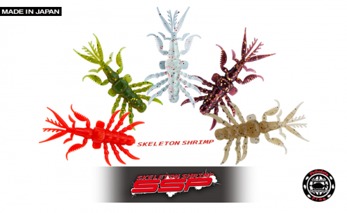Силикон Bait Breath Skeleton Shrimp SSP