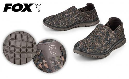 Обувки мрежести Fox Camo Mesh Trainers