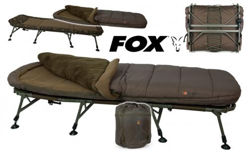 Легло със спален чувал Fox Flatliner 8 leg 5 Season CBC093