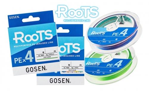 Плетено влакно Gosen ROOTS PE X4