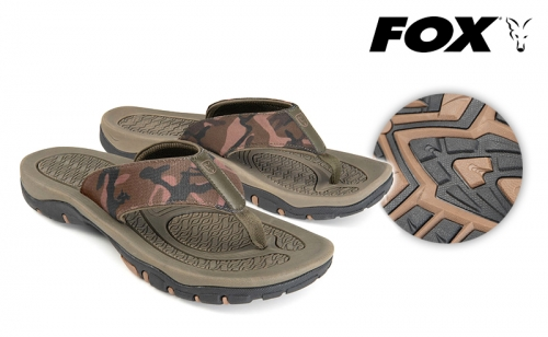 Камуфлажни джапанки Fox Flip Flop CFW