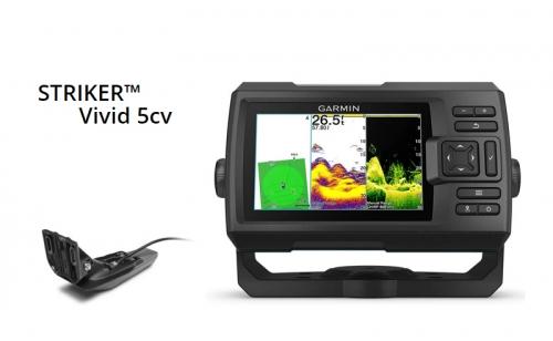Сонар Garmin STRIKER Vivid 5cv с GT20-TM сонда