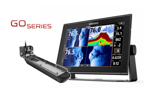 Сонар / GPS Simrad GO12 XSE с Active Imaging 3-in-1 сонда