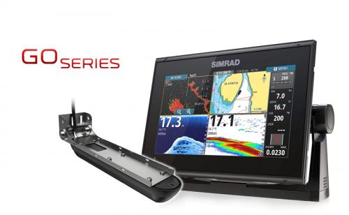 Сонар / GPS Simrad GO9 XSE с Active Imaging 3-in-1 сонда