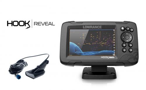 Lowrance Hook Reveal 5 50-200 HDI