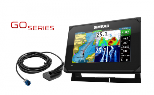 Сонар / GPS Simrad GO7 XSR с HDI сонда