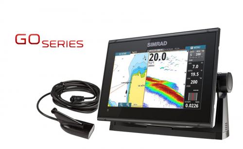 Сонар / GPS Simrad GO9 XSE с HDI сонда