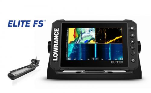 Lowrance ELITE FS 9 3-в-1 Transducer