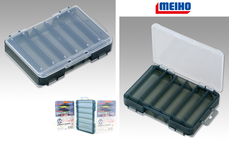 Кутия за воблери Meiho D-86 Reversible