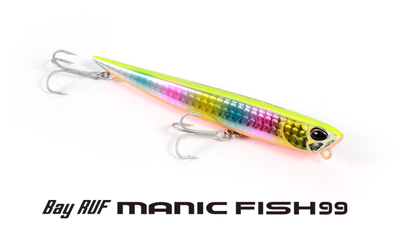 Воблер Duo BayRuf Manic Fish 99