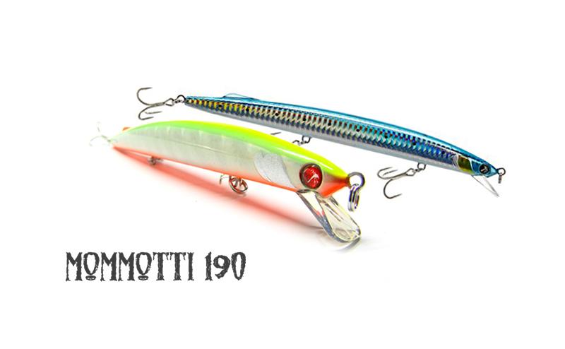Воблер SeaSpin Mommotti 190